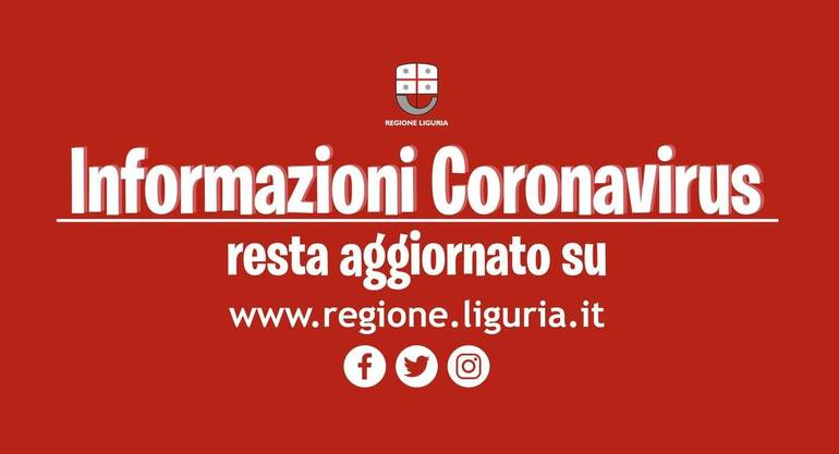 Covid-19: task force ligure per impedire il contagio